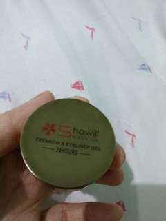 Eye brow and eye liner gel