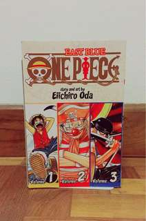 ONE PIECE - Volumes 1, 2 and 3 (combined)