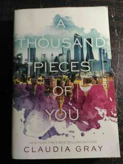 A thousand Pieces of You english novel Preloved