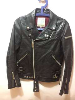 UNDERCOVER Leather Biker jacket 真皮皮褸