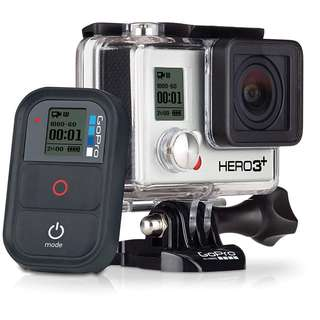 GoPro Hero 3 Plus with remote and remote pole