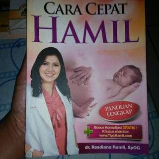 """Buku Best Seller """"Cara Cepat Hamil"""""""