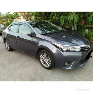 2015 Toyota Altis 1.8 (A) - Direct Owner