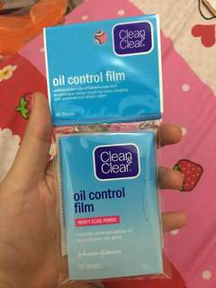 Clean&Clear oil control firm