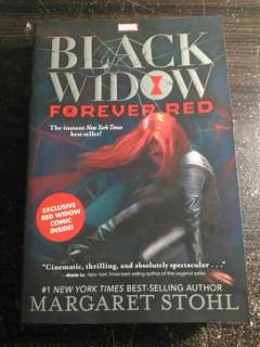 Black Widow Forever Red ENGLISH NOVEL