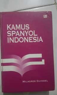 Kamus Spanyol Indonesia