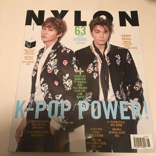 Super Junior d&e 2015 June Nylon 雜誌