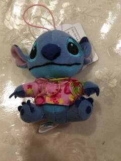 Stitch Soft Toy with fake gold ring