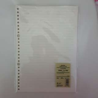B5 Loose Leaf paper