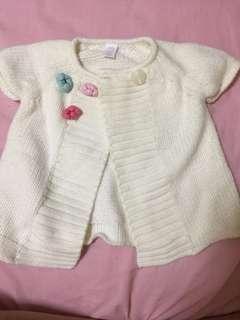Baby girl's cardigan
