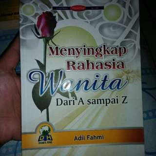 "Buku ""Menyingkap tentang rahasia wanita"""