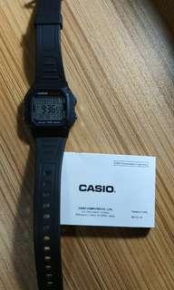 Casio W800H 電子錶