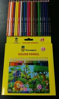Colour Pencil 24pcs