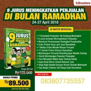 Buku 9 jurus meningkatkan penjualan di Bulan Ramadhan