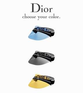 Dior club1 visor