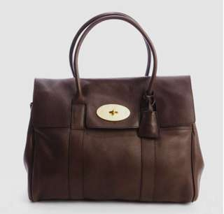 Authentic Classic Mulberry Bayswater Grainy Leather Bag