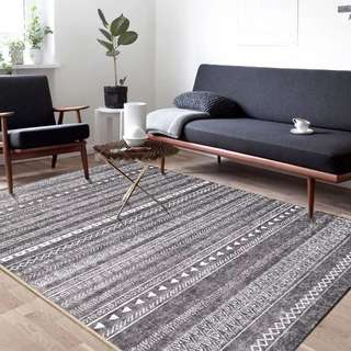 Homecarpet - 灰色線條地毯