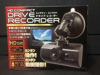 【HD COMPACT】日版高清錄影車cam 2寸螢光幕 最大支援32GB SD卡 120度角度