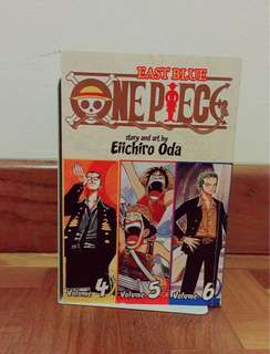ONE PIECE - Volumes 4, 5 and 6 (combined)