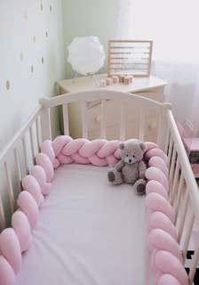 [INSTOCK] Nordic Style Baby Braided Crib Bumper