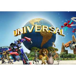 Universal Studios Singapore 1 Day Pass