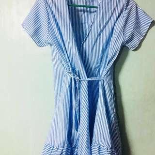 Luna wrap Dress