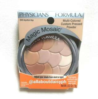 Physicians Formula Multi-Colored Pressed Powder BEIGE/WARM BEIGE