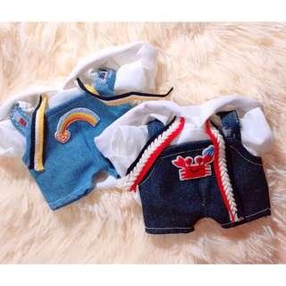 PO EXO 20cm hoodie + jumper set