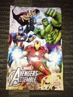 Poster Marvel Avenger Assemble