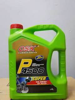Osk lubricants engine oil 20w50