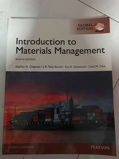 Introduction to material management