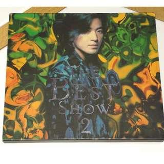 CD Ekin Cheng Zheng Yi Jian 郑伊健 The Best Show 2 1997 HK Press
