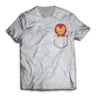 Pockettony Unisex T-Shirt Avengers Infinity War