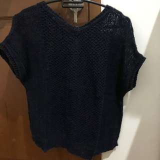 Preloved GU (uniqlo) short sleeved knitwear