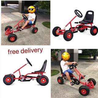 4 Wheels Mountain Bicycle Children Rally Speed Car