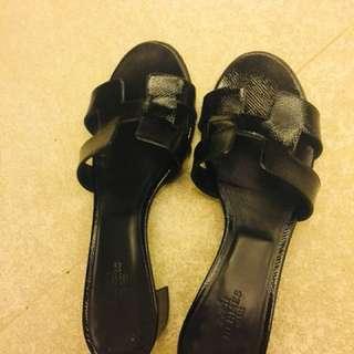 Hermes Slippers Size 36.5