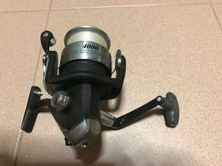 Daiwa silverspin 4000 reel + fishing gear