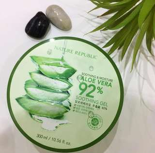 Nature Republic Aloe Vera 92% Shooting Gel (original)