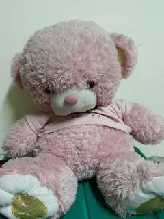 beruang pink #lsprnyc