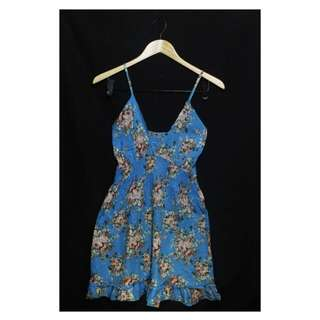 Floral summer dress  * small - medium * used twice only