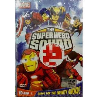Marvel The Super Hero Squad Show Vol.1 Anime DVD