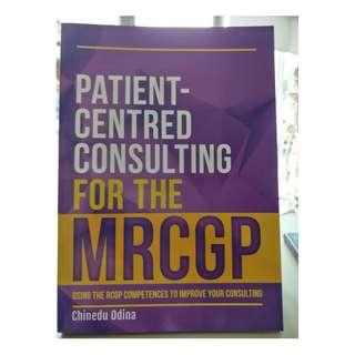 Medical Book - Patient Centred Consulting for the MRCGP
