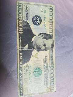 Rare money worth 1 millon dollars