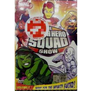 Marvel The Super Hero Squad Show Vol.2 Anime DVD