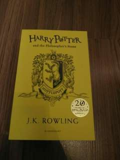 Harry Potter Philosopher's Stone 20th Anniversary Edition (Hufflepuff)