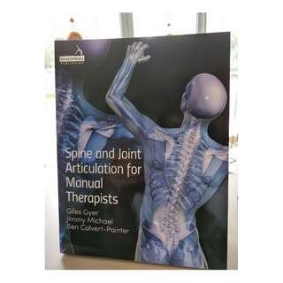 Medical Book - Spine and Joint Articulation for Manual Therapists