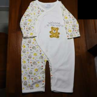 Baby Sleepsuits Welcome to the World (Long-Sleeve)