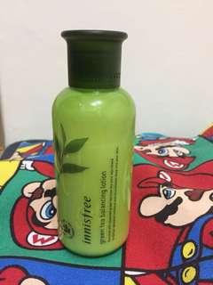 Innisfree綠茶平衡乳液