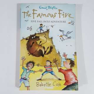 Five Fall into Adventure (The Famous Five) by Enid Blyton