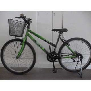 bike bicycle with basket 18 speed gears Best condition No repairs needed